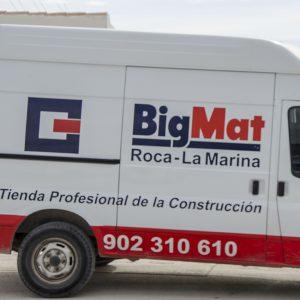FURGONETAS -Transportes en Benidorm, Altea, Dénia y Callosa - BigMat Roca La Marina