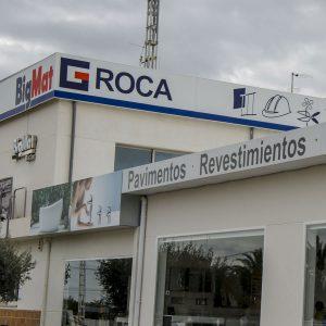 Almacén de materiales de construcción en Altea y Benidorm - BigMat Roca