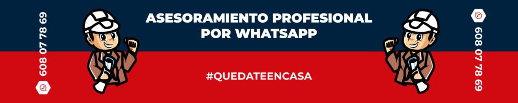 ¡Asesoramiento profesional por WhatsApp!