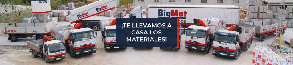 Transporte a particulares de materiales de construcción