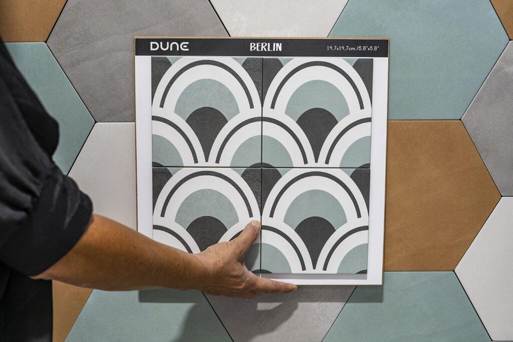 Colección Dune Berlin - Novedades decorativas BigMat Roca La Marina