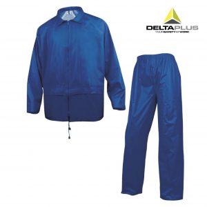 Chaqueta y pantalón chubasquero DeltaPlus EN400 - Roca La Marina