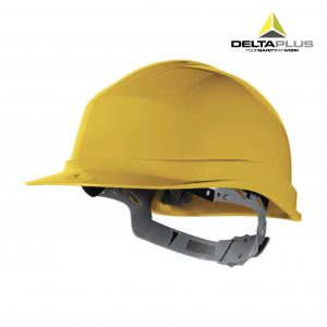 Casco de obra ajustable DeltaPlus Zircon amarillo - Roca La Marina