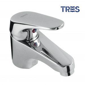 Grifo de lavabo Tres 17410306 - BigMat Roca La Marina