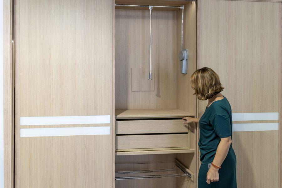 Diseño de armarios vestidores a medida - Asesoramiento en interiorismo en Benidorm, Altea, Dénia y Callosa d'en Sarrià - BigMat Roca La Marina