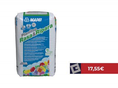 Mortero Mapei Planitop Rasa&Ripara 25kg