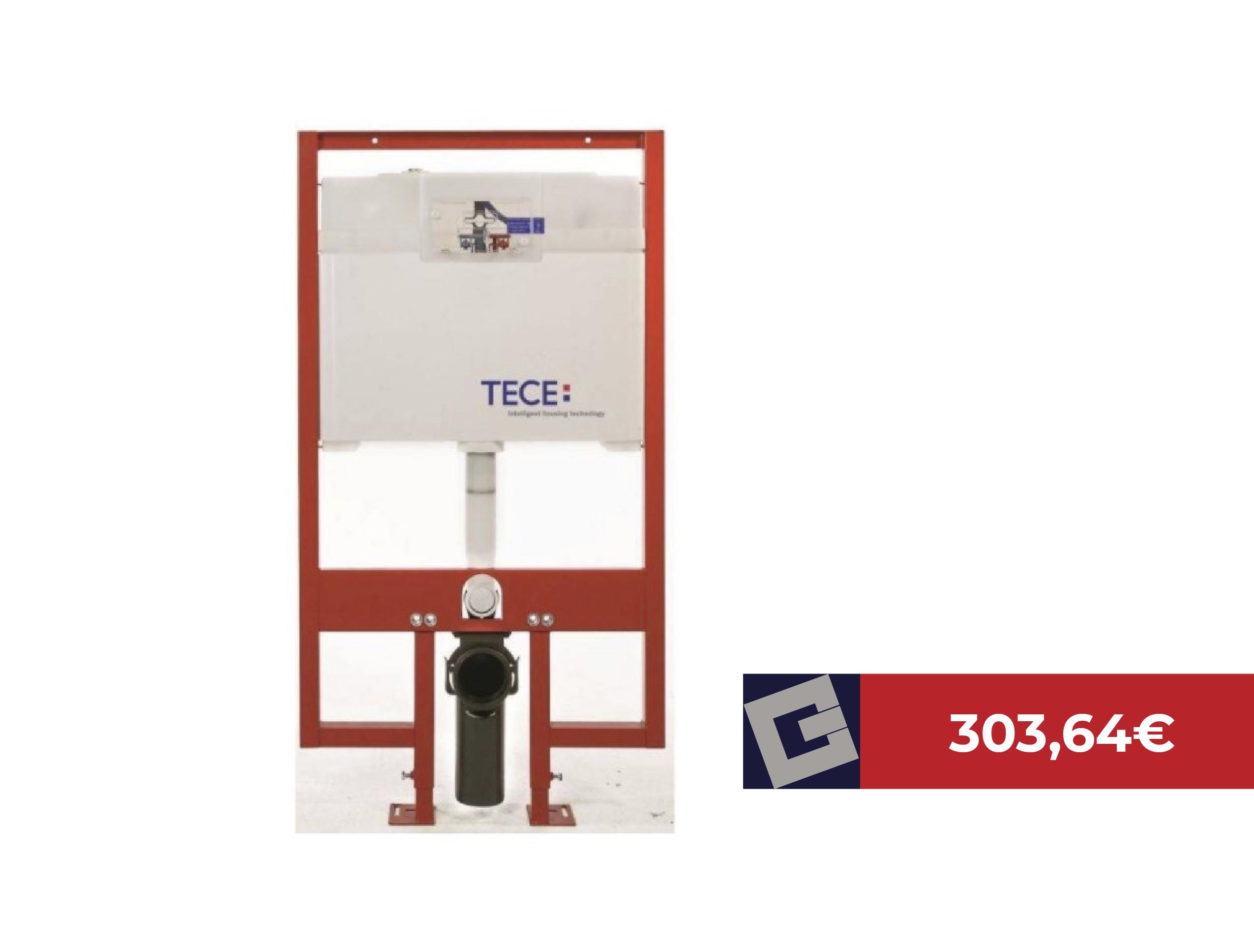 Módulo de inodoro suspendido TECEProfil 9300040 de 8cm
