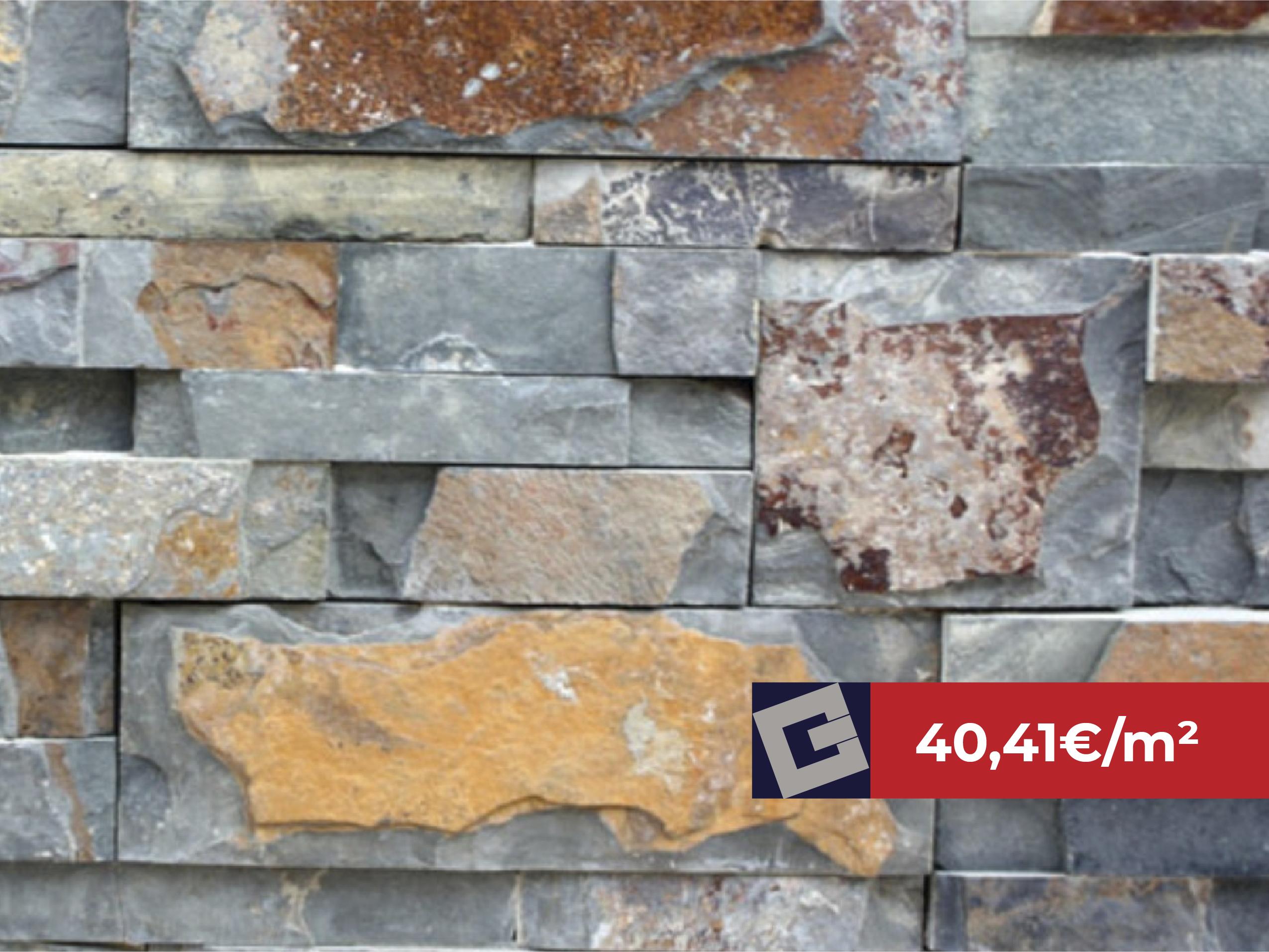 "Piedra laja filambres 35×18 ""Z"" Óxido"