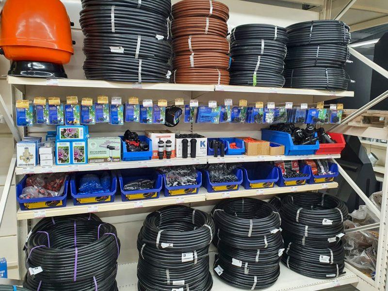 Nuevo lineal de sistemas de riego en nuestros almacenes