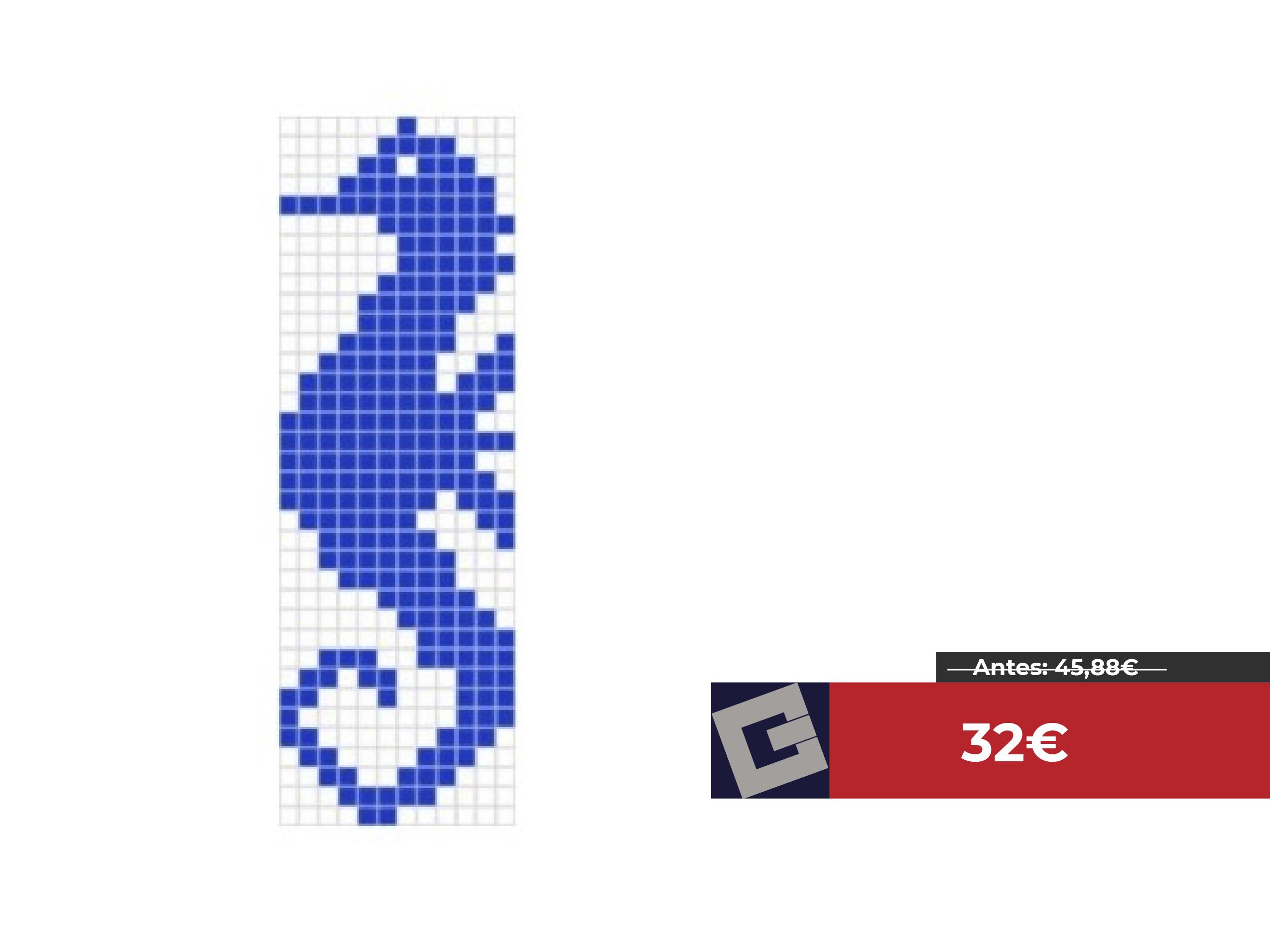 Gresite Vidrepur caballito de mar DS11-31 de 7x95cm
